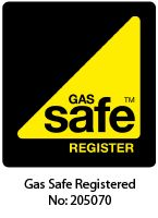 Gas Safe registered: No: 205070